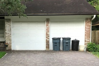 Curbside and to-the-house garbage pickup