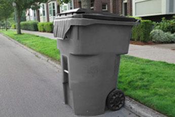 96 gallon garbage cart