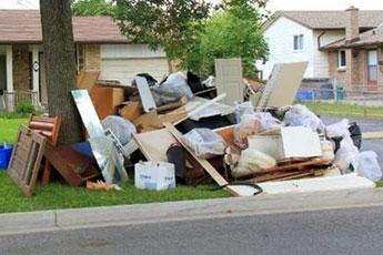 Trash pickup and junk disposal